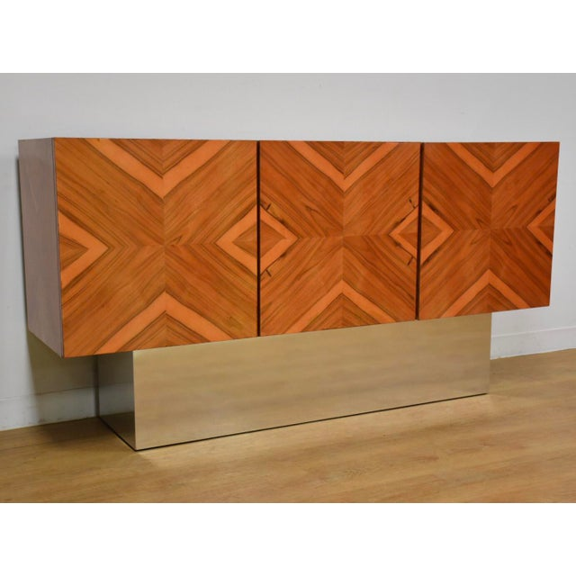 Milo Baughman for Thayer Coggin Rosewood Credenza For Sale - Image 11 of 12