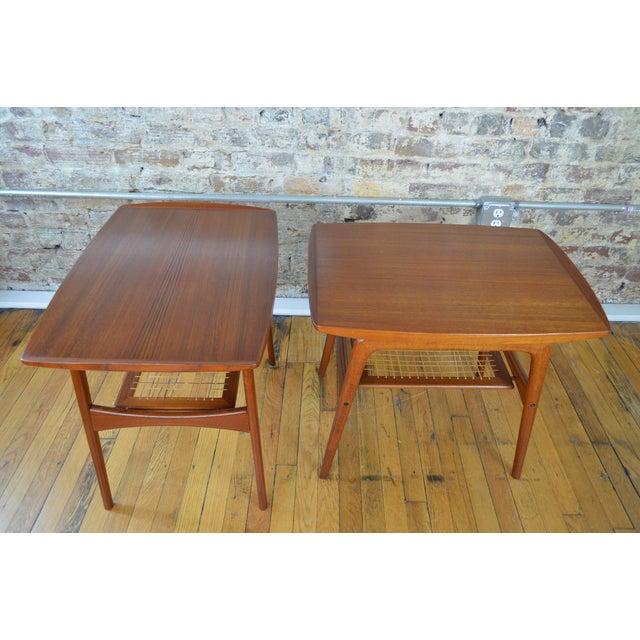 Arne Hovmand Olsen for Mogens Kold Danish Teak End Tables For Sale - Image 10 of 10