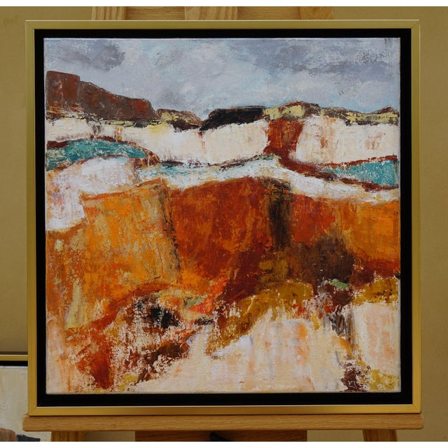 "Abstract Landscape ""Building Blocks"" by Laurie MacMillan For Sale In Los Angeles - Image 6 of 6"