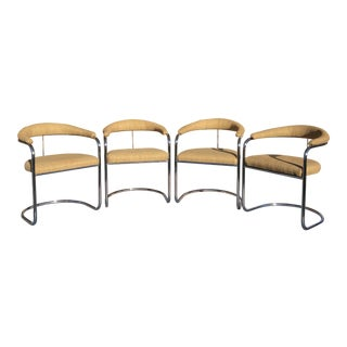 Thonet Anton Lorenz Collection Chairs - Set of 4