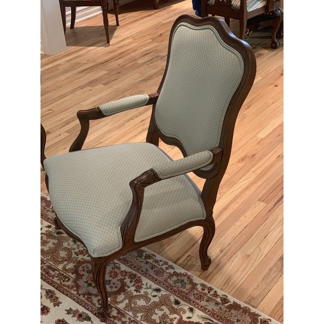 French Ethan Allen Chantel Side Chairs - a Pair For Sale - Image 3 of 6