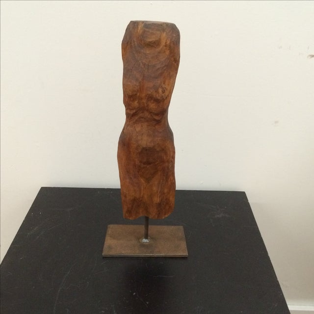 Sculpted Figure on Stand - Image 2 of 7