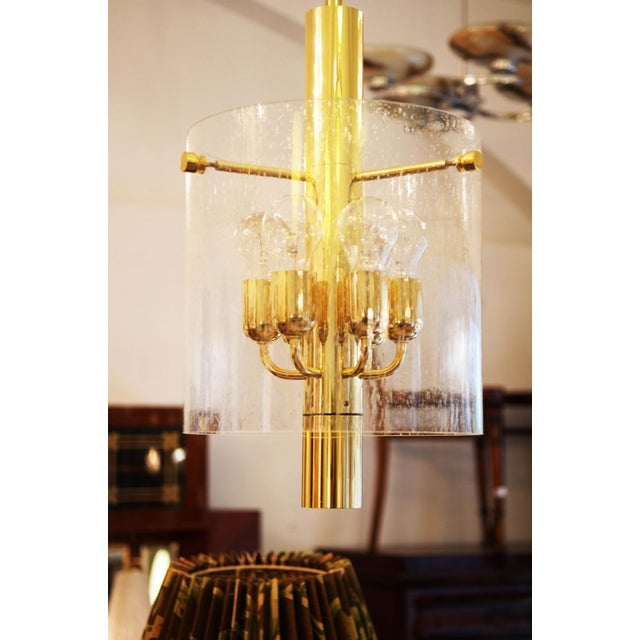 Contemporary Model 4298 hanging lamp from Glashütte Limburg For Sale - Image 3 of 11