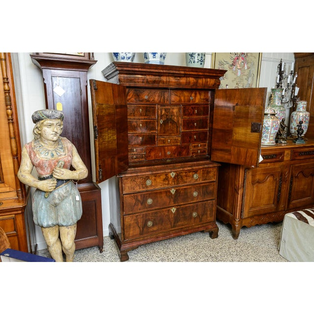 Brown Chest on chest For Sale - Image 8 of 11