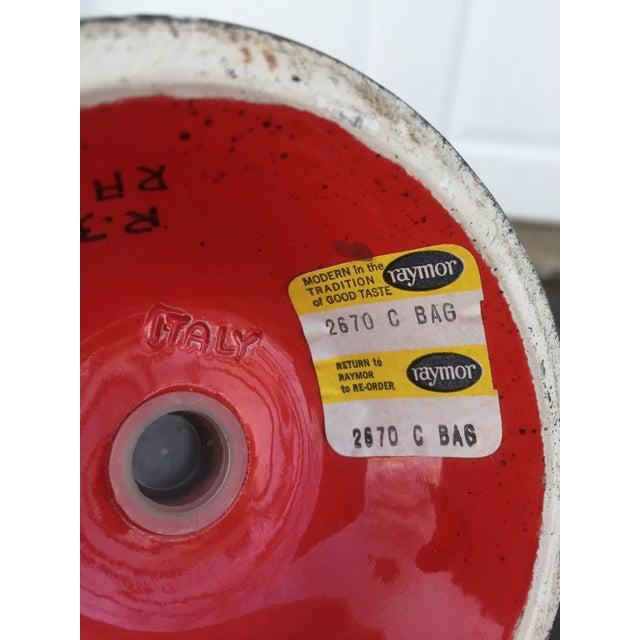 Monumental Alvino Bagni for Raymor Bird Shaker For Sale - Image 9 of 10