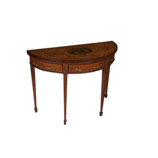19th Century Georgian Adam Style Game Table For Sale