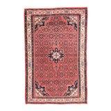 Image of 1930s Semi Handmade Bidjar Persian Rug- 4′11″ × 8′3″ For Sale