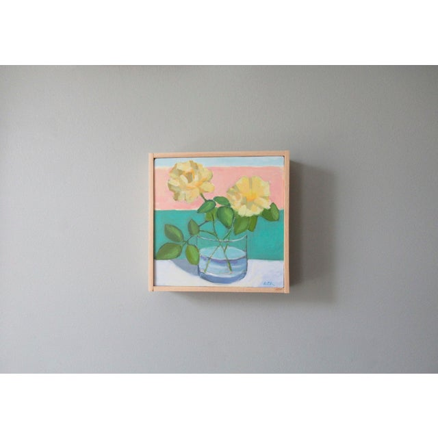 Anne Carrozza Remick Yellow Roses by Anne Carrozza Remick For Sale - Image 4 of 6