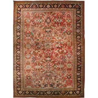 """Antique Persian Mahal Rug - 12' x 17'7"""""""