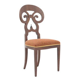 Germany Early 20th Century Biedermeier Mahogany Chair For Sale