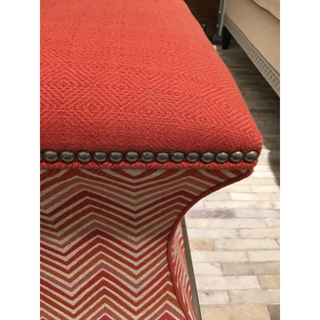 Wesley Hall Comcavo Ottomans - a Pair - Image 4 of 8