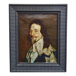 Portrait of a Spanish Gentleman -17/18th Century Oil Painting For Sale