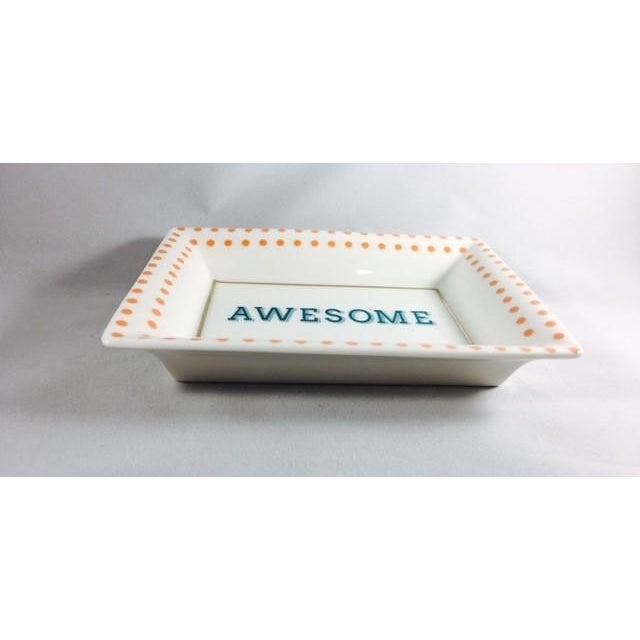 Small Talk Decorative Trinket Dish - Image 3 of 3