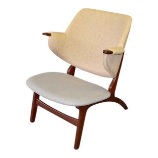Mid Century Modern Teak Penguin Chair For Sale