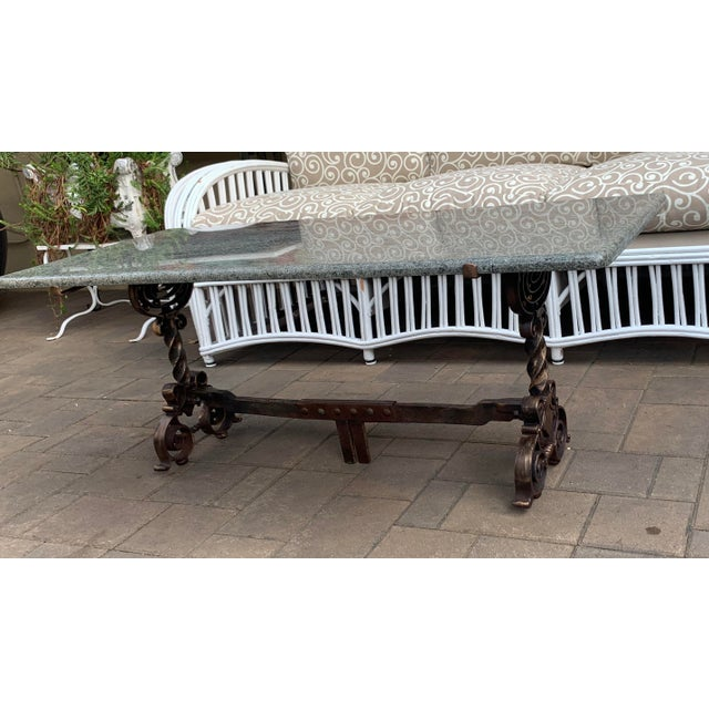 1920s Arts & Crafts Coffee Table For Sale - Image 5 of 7