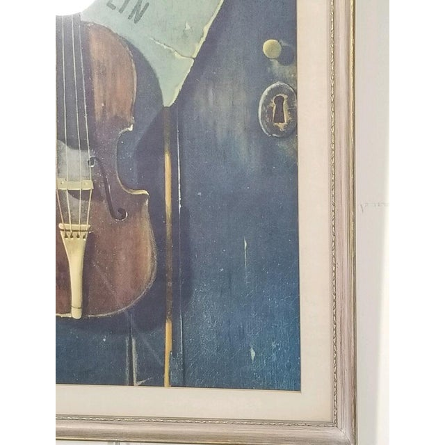 Vintage Print of a Violin and Sheet Music For Sale In Atlanta - Image 6 of 8