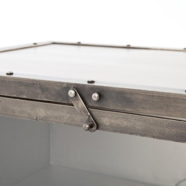 2010s Industrial Erdos + Ko Ellen Media Console Table For Sale - Image 5 of 8