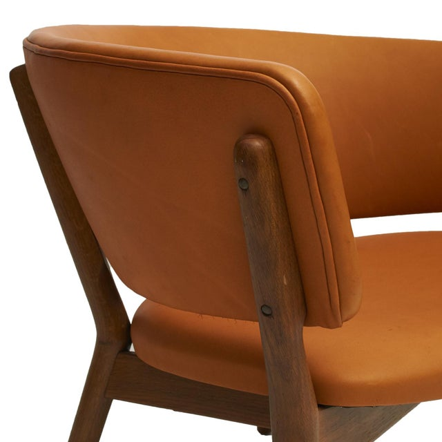 Tan Nanna Ditzel Model #ND83 Lounge Chairs - a Pair For Sale - Image 8 of 10