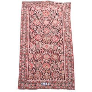 Red Karabagh Persian Rug - 6′6″ × 12′6″ For Sale