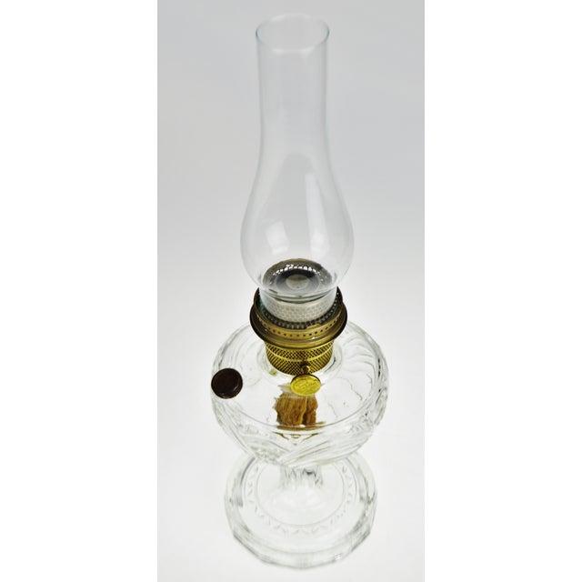 Traditional Vintage Washington Drape Aladdin Oil Lamp For Sale - Image 3 of 12