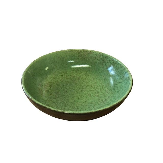 1950s Green & Tan Modern Bowl Set - Set of 8 - Image 3 of 5