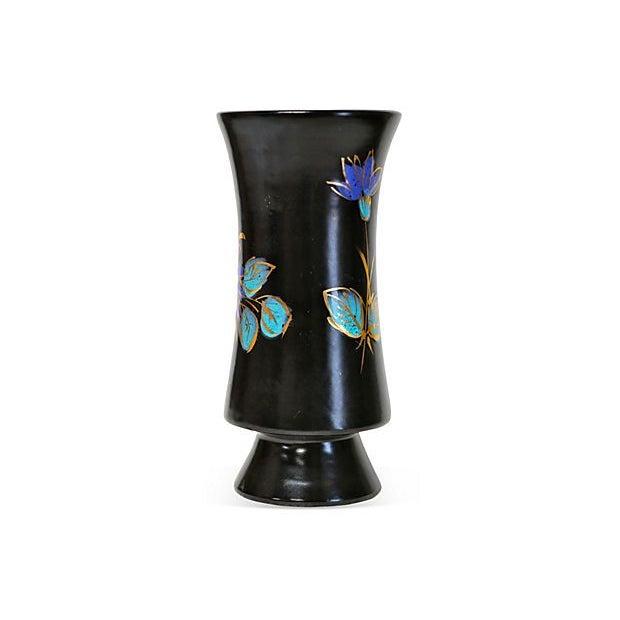 Mid-Century Modern Italian Mid-Century Ceramic Vase For Sale - Image 3 of 5