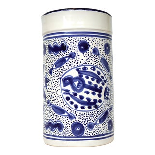 Hand-Painted Turkish Vase