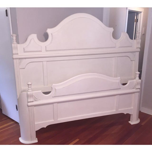 White King Size Bed Frame - Image 9 of 9