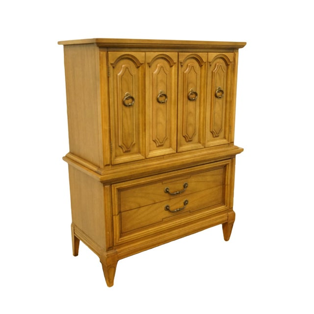 Italian 20th Century Italian Dixie Furniture Door Chest on Chest For Sale - Image 3 of 13