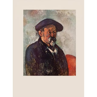 "1950s Paul Cezanne ""Self-Portrait With Beret"" First Edition Photogravure For Sale"