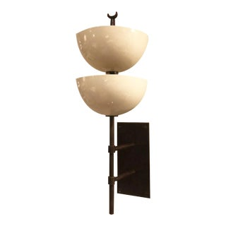 The Small Gilles Wall Sconce with Powder Coated Metal Shades