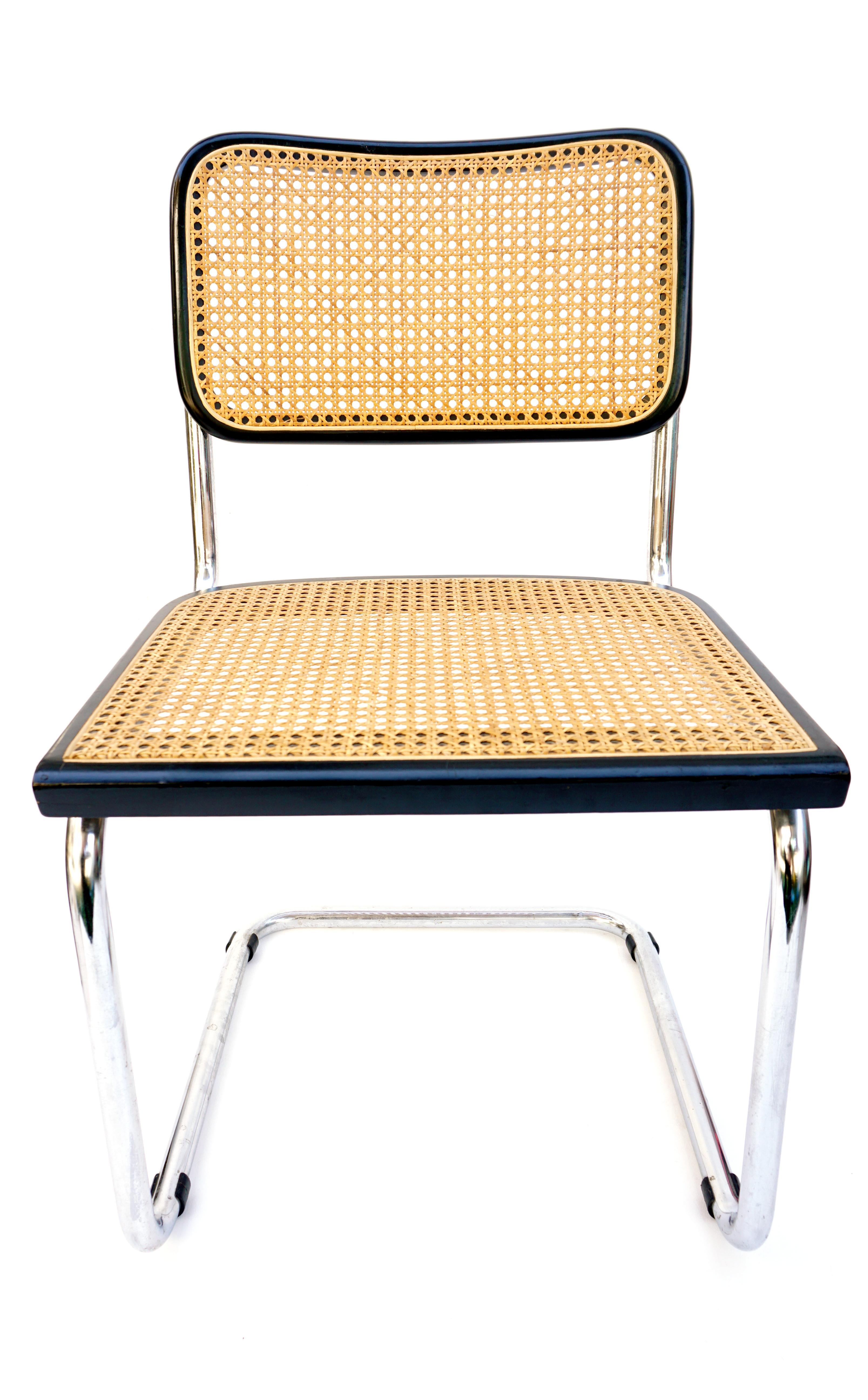 Bauhaus Vintage Bauhaus Marcel Breuer B32 Cantilever Chair For Sale - Image 3 of 11  sc 1 st  Chairish & Vintage Bauhaus Marcel Breuer B32 Cantilever Chair | Chairish