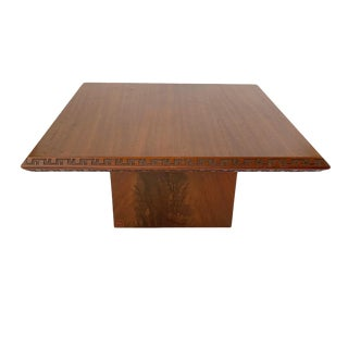Mid-Century Modern Frank Lloyd Wright Side Table for Heritage Henredon For Sale