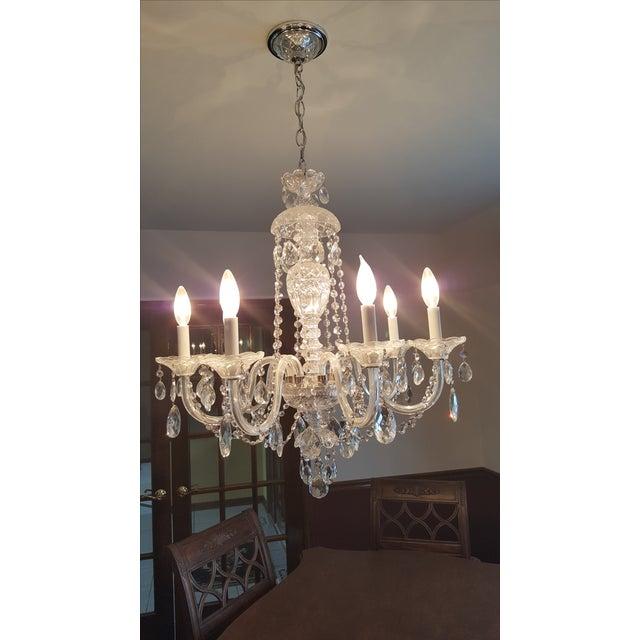 Schonbek Silver Heritage Crystal Chandelier - Image 2 of 6