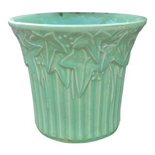 Vintage McCoy Pottery Light Green Vase