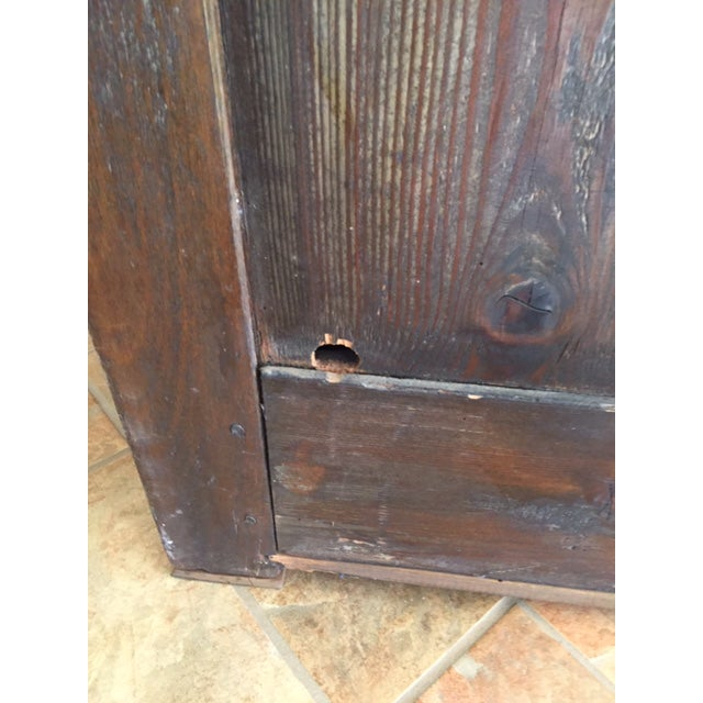 19th Century French Country Cherry Cabinet For Sale - Image 11 of 13
