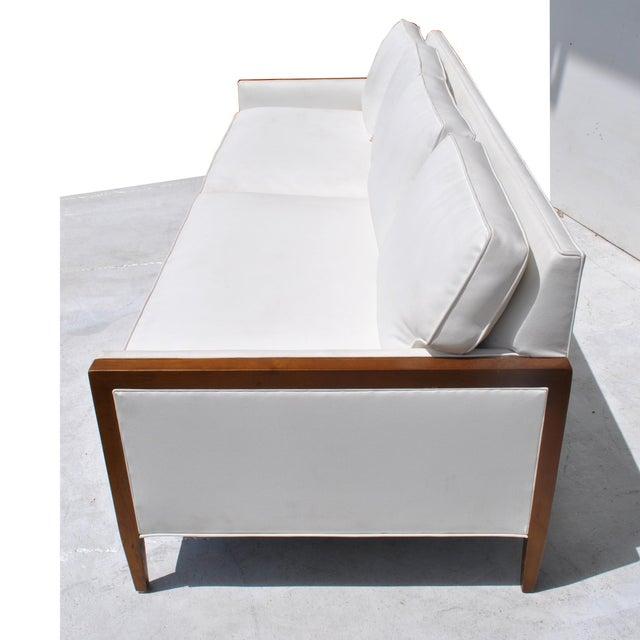 Wood Vintage Restored Stow Davis Sofa For Sale - Image 7 of 12