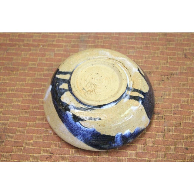 Abstract Southwestern Pottery Bowl For Sale - Image 3 of 5