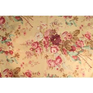 Rose Cumming Chintz Fabric - 2.8 For Sale