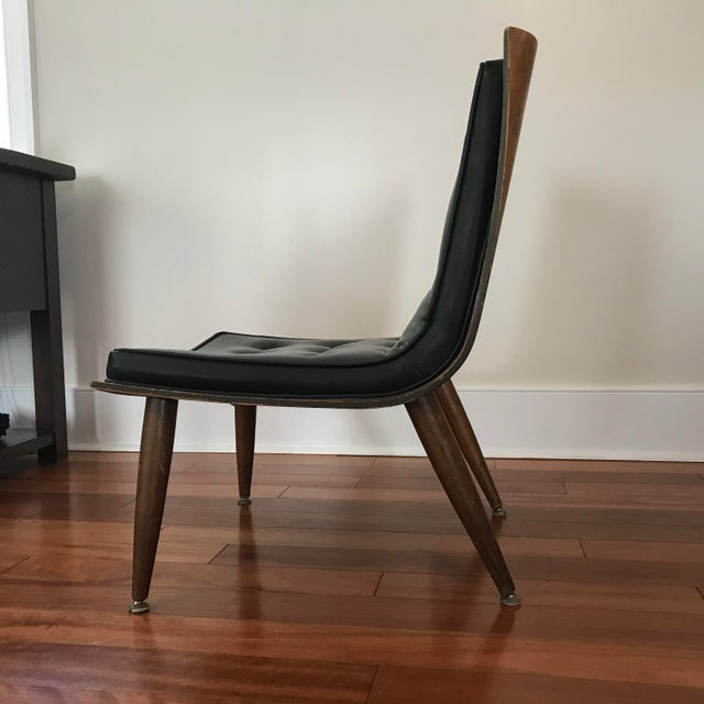 Mid-Century Modern 1950s Mid-Century Modern Carter Brothers Scoop Chair For Sale - Image 3 of 13