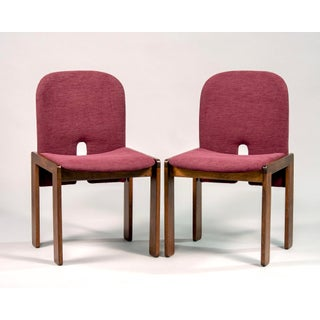 Afra and Tobia Scarpa 121 Walnut Dining Chairs for Cassina, Set of 8 Preview
