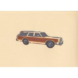 Woodie Wagon Print For Sale