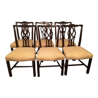 Kindel Chippendale Chairs - Set of 6