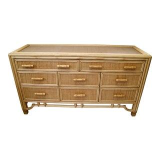 Bamboo & Rattan Dresser