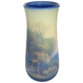 Rookwood Pottery Vellum Glaze Vase, Circa 1925 For Sale