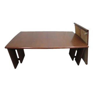 Extra Long Conference Table With Leaf For Sale