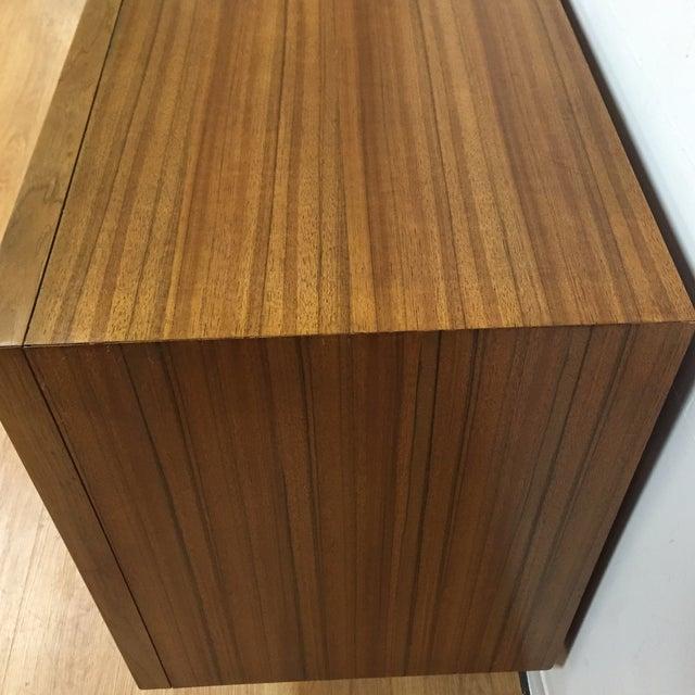 Zebra Wood and Brass 12 Drawer Dresser - Image 5 of 11