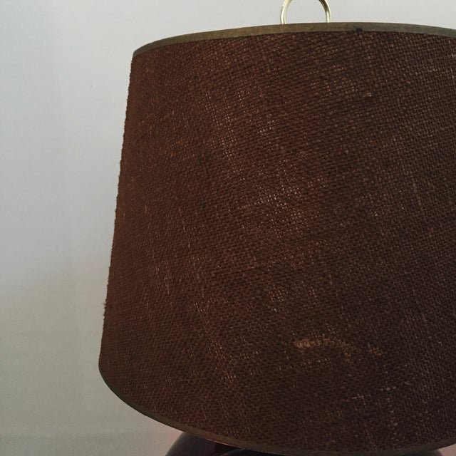 Mid-Century Sculptural Table Lamp - Image 4 of 5