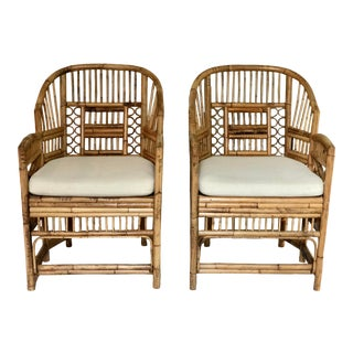 Vintage Brighton Pavilion Chinoiserie Chairs - a Pair For Sale