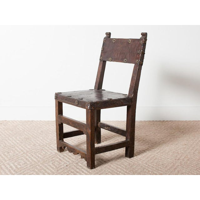 1930s Vintage Spanish Chair For Sale - Image 5 of 5